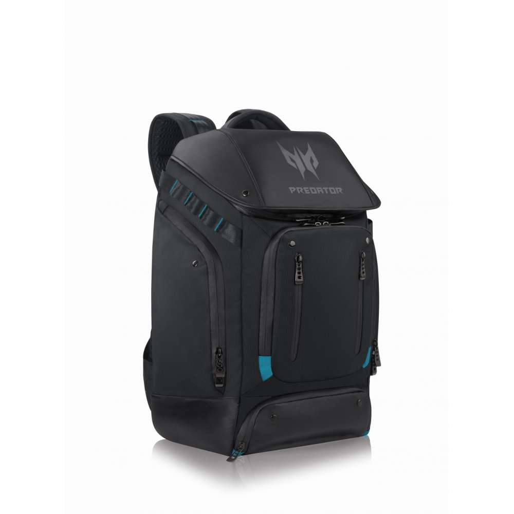Раница Acer Predator 17.3 Gaming Utility Backpack Black with Teal Blue NP.BAG1A.288