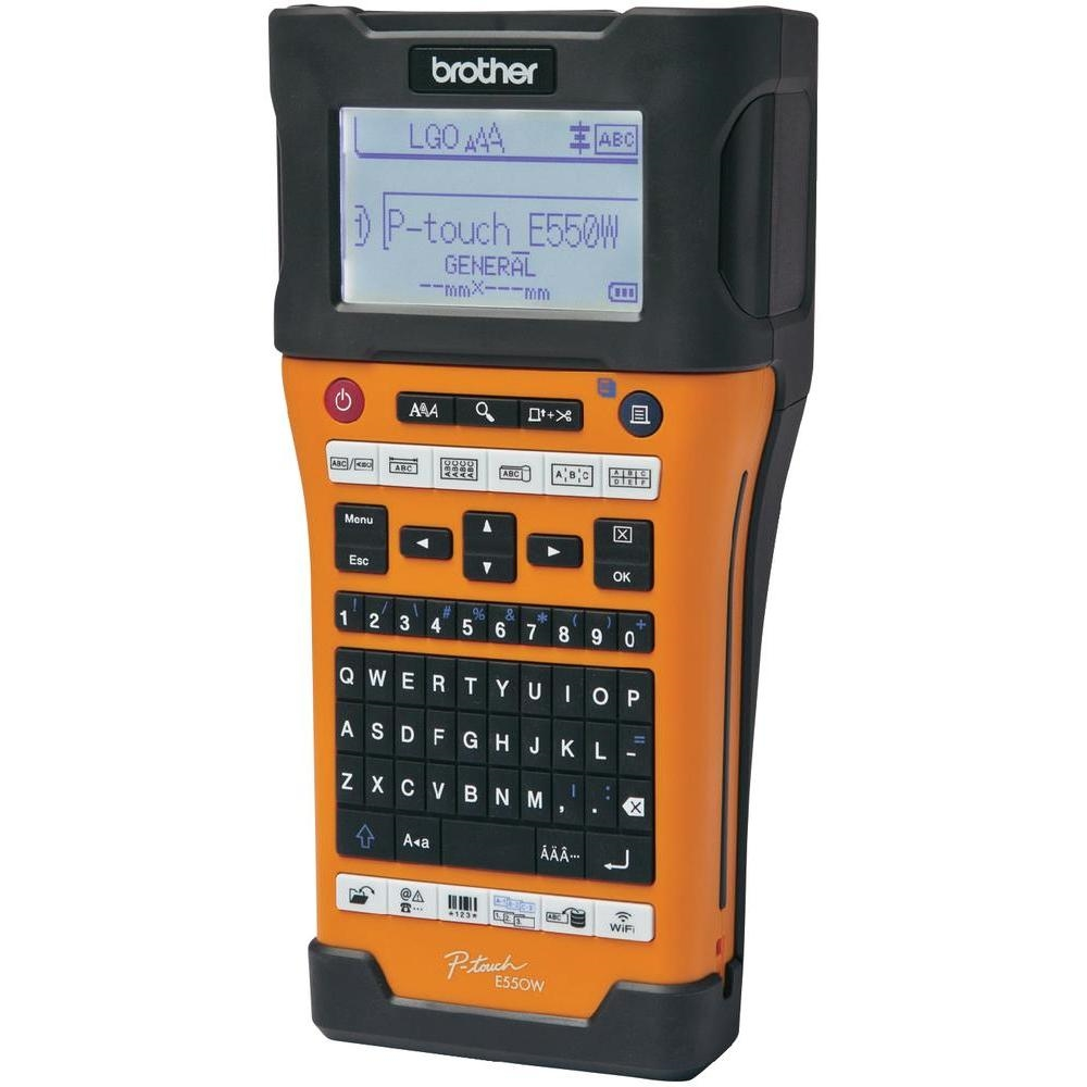Етикираща система Brother PT-E550WVP Handheld Industrial Labelling system PTE550WVPYJ1