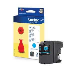 Консуматив Brother LC-121 Cyan Ink Cartridge for MFC-J470DW/DCP-J552DW
