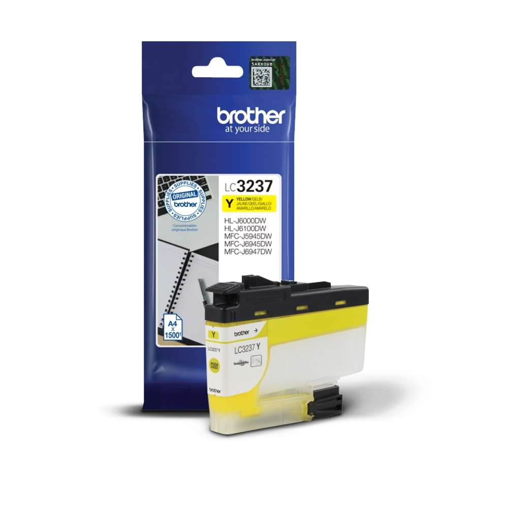 Консуматив Brother LC-3237 Yellow Ink Cartridge LC3237Y