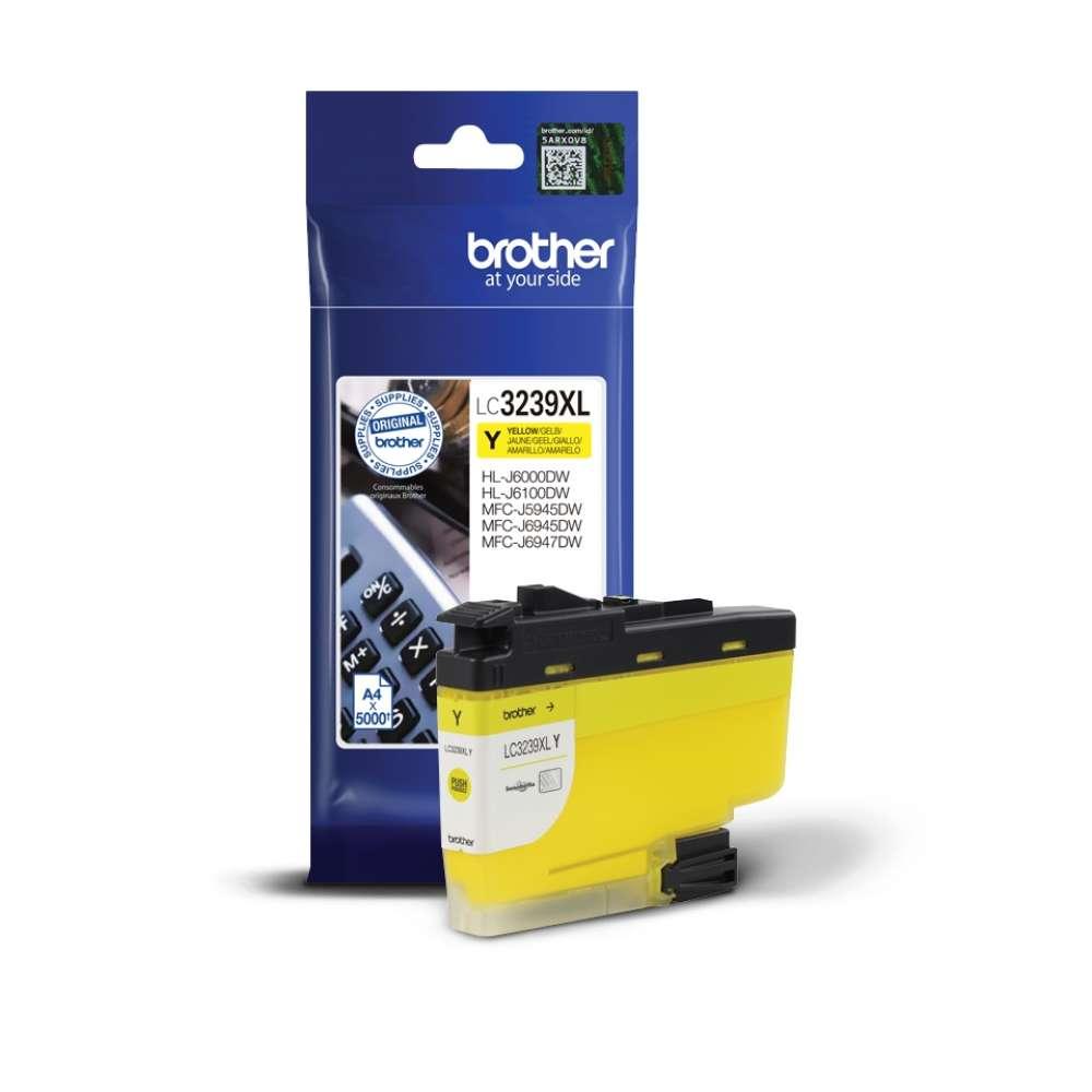 Консуматив Brother LC-3239XL Yellow High-yield Ink Cartridge LC3239XLY