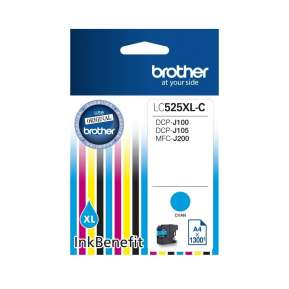 Консуматив Brother LC-525 XL Cyan Ink Cartridge High Yield