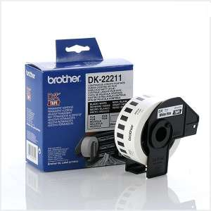 Консуматив Brother DK-22211 White Continuous Film Tape 29mm x 15.24m