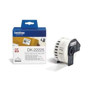Консуматив Brother DK-22225 White Continuous Length Paper Tape 38mm x 30.48m