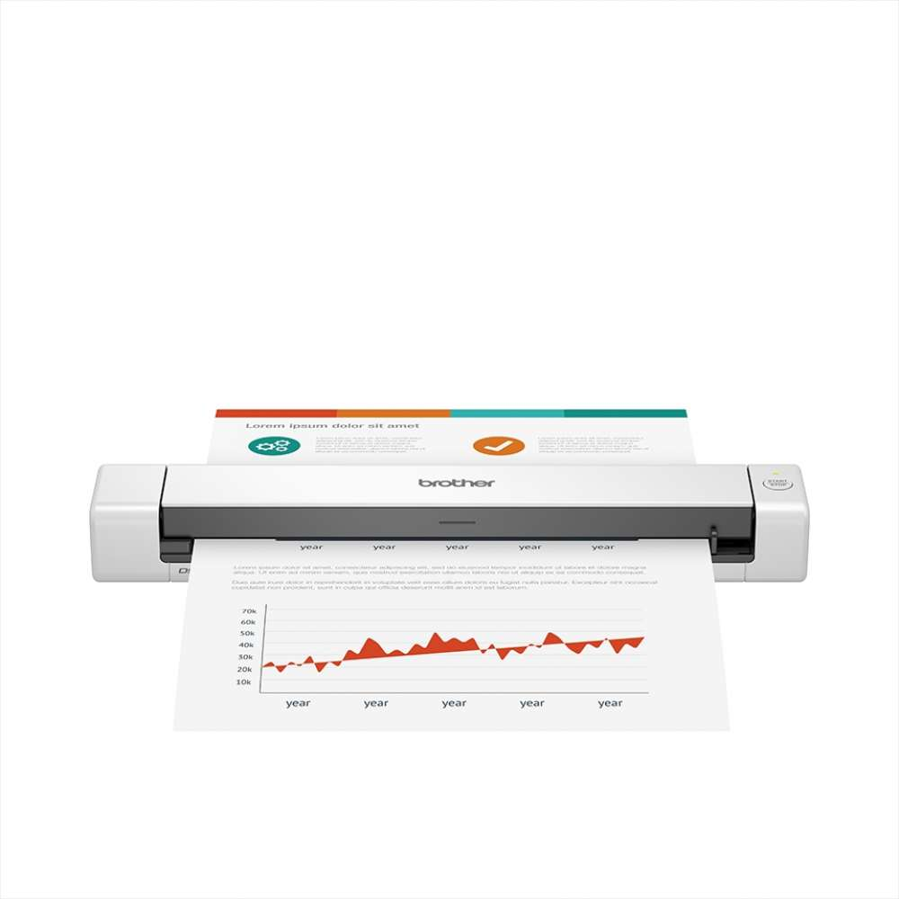 Мобилен скенер Brother DS-640 Portable Document Scanner