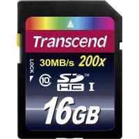 Памет Transcend 16GB SDHC (Class 10) TS16GSDHC10
