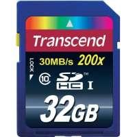 Памет Transcend 32GB SDHC (Class 10) TS32GSDHC10