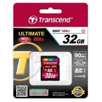 Памет Transcend 32GB SDHC UHS-I Ultimate (Class10) TS32GSDHC10U1