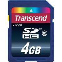 Памет Transcend 4GB SDHC (Class 10) TS4GSDHC10