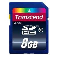 Памет Transcend 8GB SDHC (Class 10) TS8GSDHC10