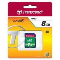 Памет Transcend 8GB SDHC (Class 4) TS8GSDHC4