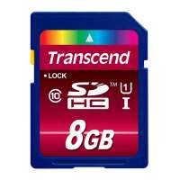 Памет Transcend 8GB SDHC UHS-I Ultimate (Class10) TS8GSDHC10U1
