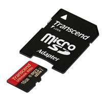 Памет Transcend 16GB micro SDHC UHS-I Ultimate (with adapter TS16GUSDHC10U1
