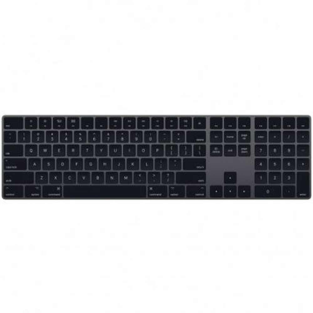 Клавиатура Apple Magic Keyboard with Numeric Keypad - Bulgarian - Space Grey MRMH2BG/A
