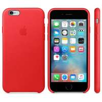 Калъф Apple iPhone 6s Leather Case - Red MKXX2ZM/A