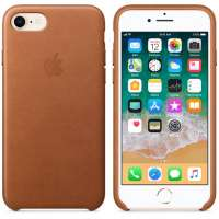 Калъф Apple iPhone 8/7 Leather Case - Saddle Brown MQH72ZM/A