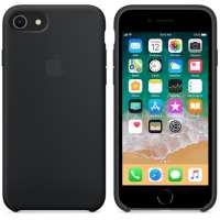 Калъф Apple iPhone 8/7 Silicone Case - Black MQGK2ZM/A