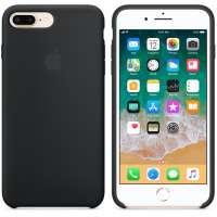 Калъф Apple iPhone 8 Plus/7 Plus Silicone Case - Black MQGW2ZM/A