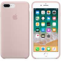 Калъф Apple iPhone 8 Plus/7 Plus Silicone Case - Pink Sand MQH22ZM/A