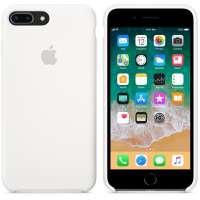 Калъф Apple iPhone 8 Plus/7 Plus Silicone Case - White MQGX2ZM/A