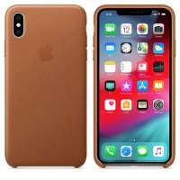 Калъф Apple iPhone XS Max Leather Case - Saddle Brown MRWV2ZM/A