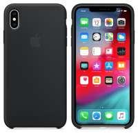Калъф Apple iPhone XS Max Silicone Case - Black MRWE2ZM/A