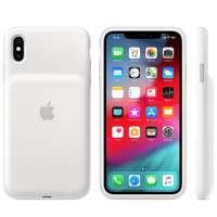 Калъф Apple iPhone XS Max Smart Battery Case - White MRXR2ZM/A