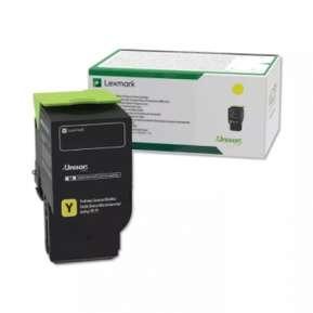 Консуматив Lexmark 78C2UY0 Yellow Ultra High Yield Return Programme Toner Cartridge