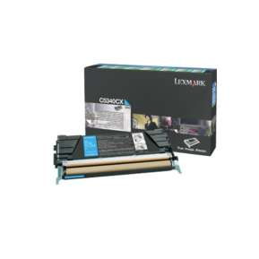 Консуматив Lexmark C534 Cyan Return Programme Toner Cartridge (7K)