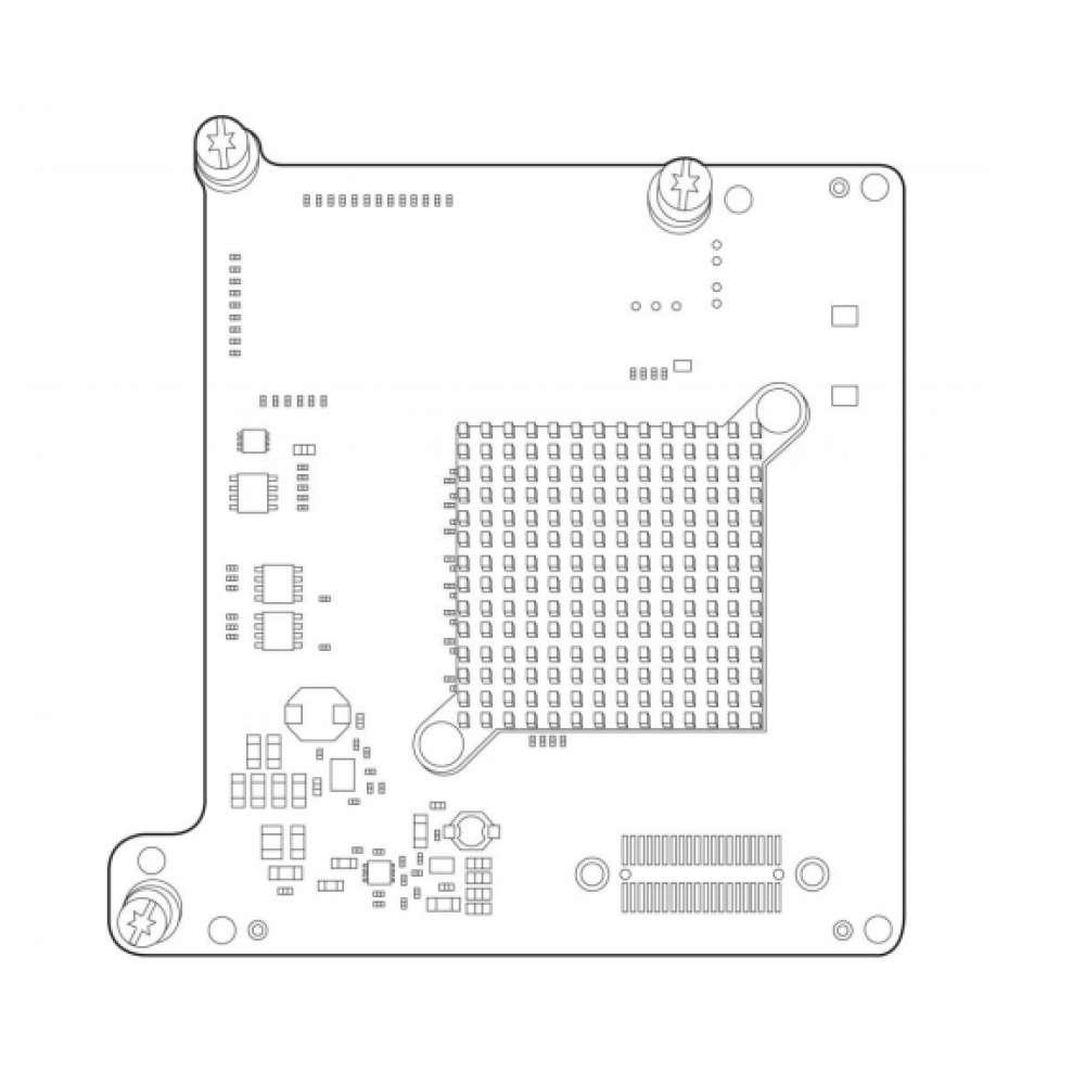 Адаптер HPE LPe1605 16Gb Fibre Channel HBA for BladeSystem c-Class 718203-B21