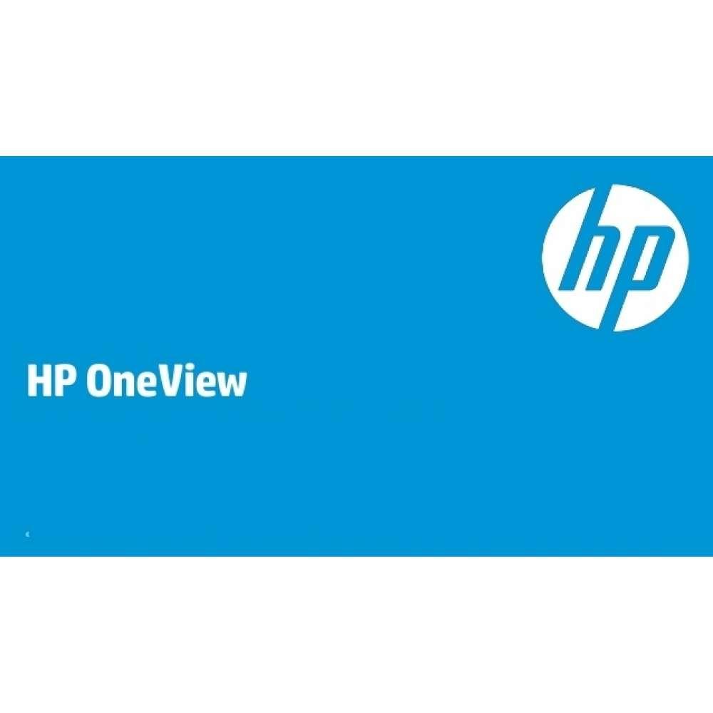 Лиценз за ползване на програмен продукт HP OneView Upgrade w/ 3yr 24x7 Phys 1 Svr Lic F6Q91A
