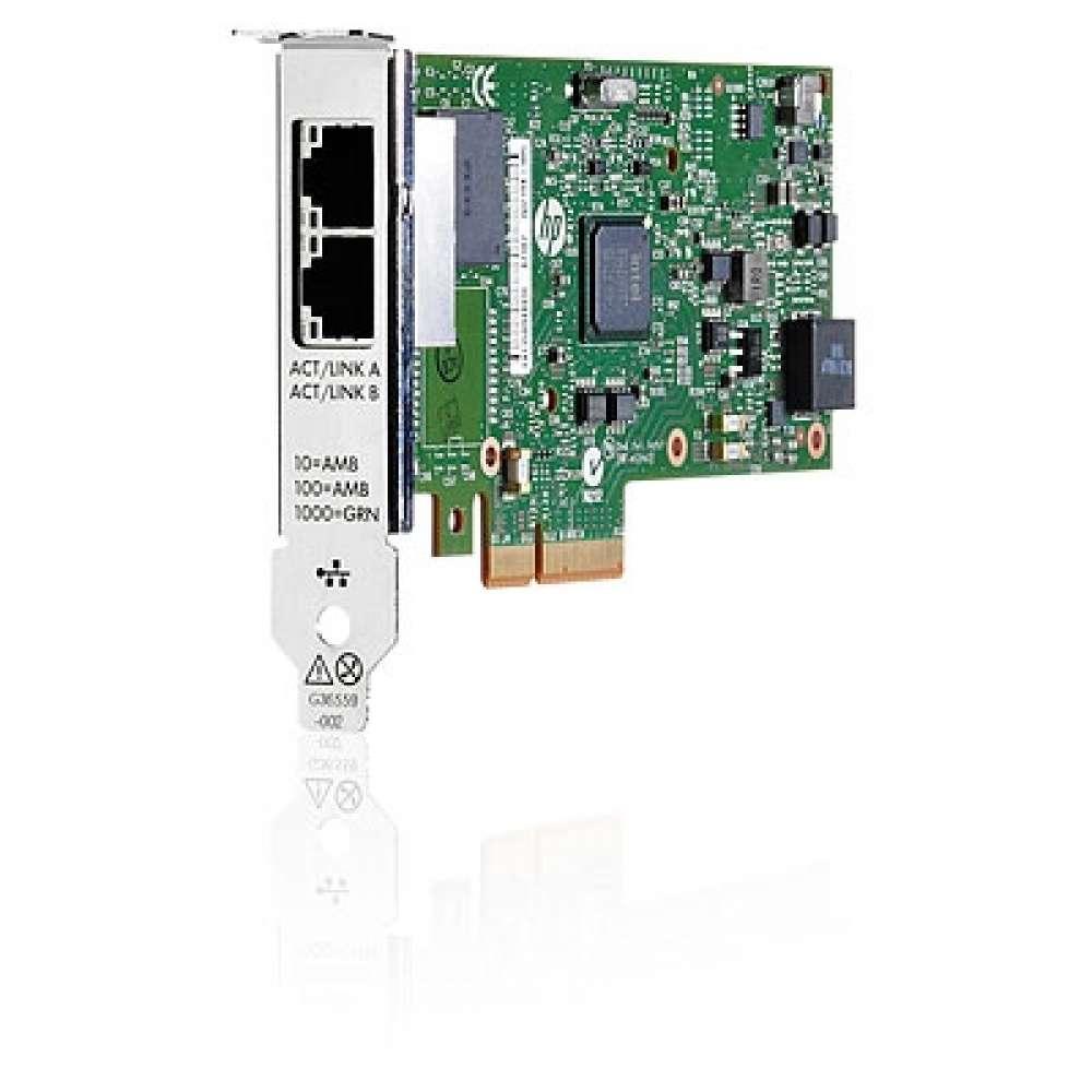 Адаптер HP Ethernet 1Gb 2P 361T Adapter 652497-B21