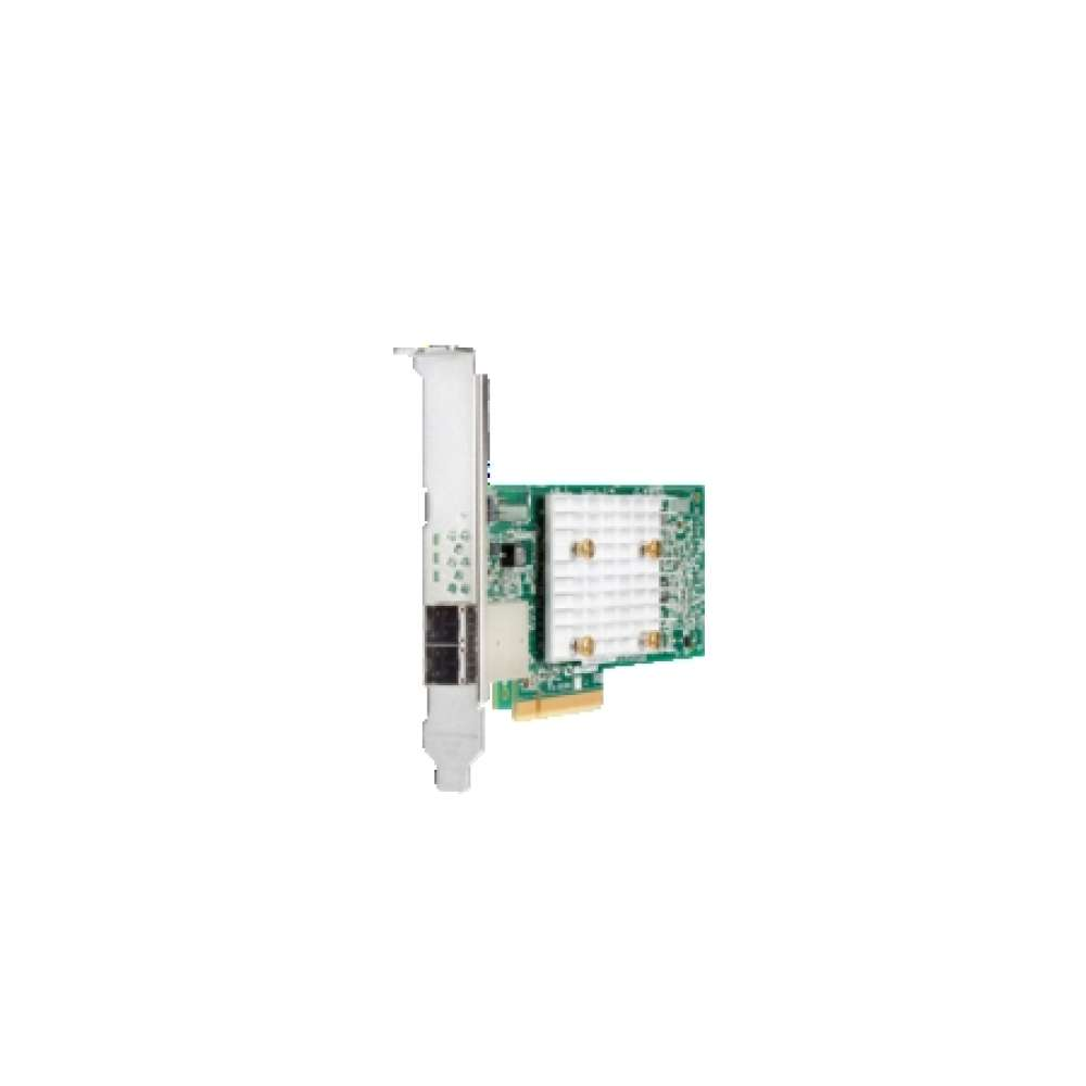 Аксесоар HPE Smart Array E208e-p SR Gen10 (8 External Lanes/No Cache) 12G SAS PCIe Plug-in Controller 804398-B21