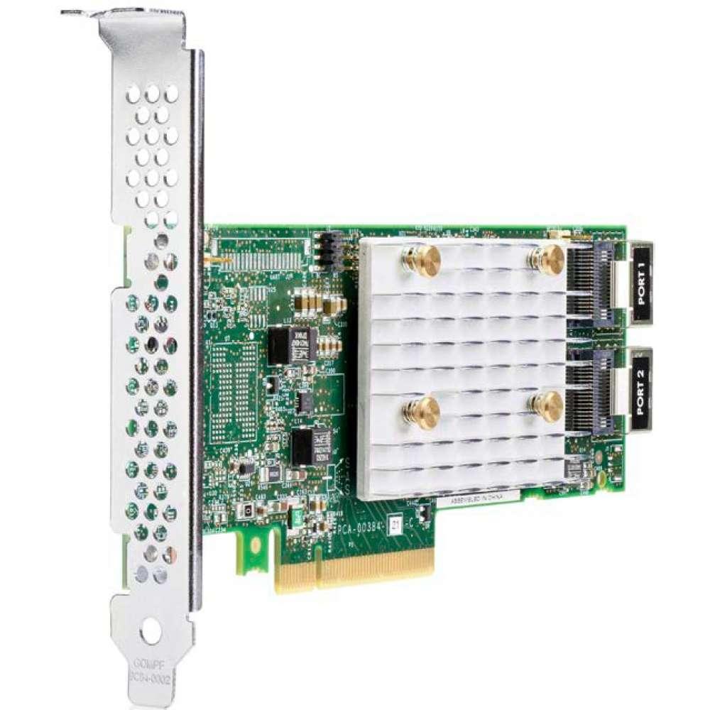 Аксесоар HPE Smart Array E208i-p SR Gen10 (8 Internal Lanes/No Cache) 12G SAS PCIe Plug-in Controller 804394-B21