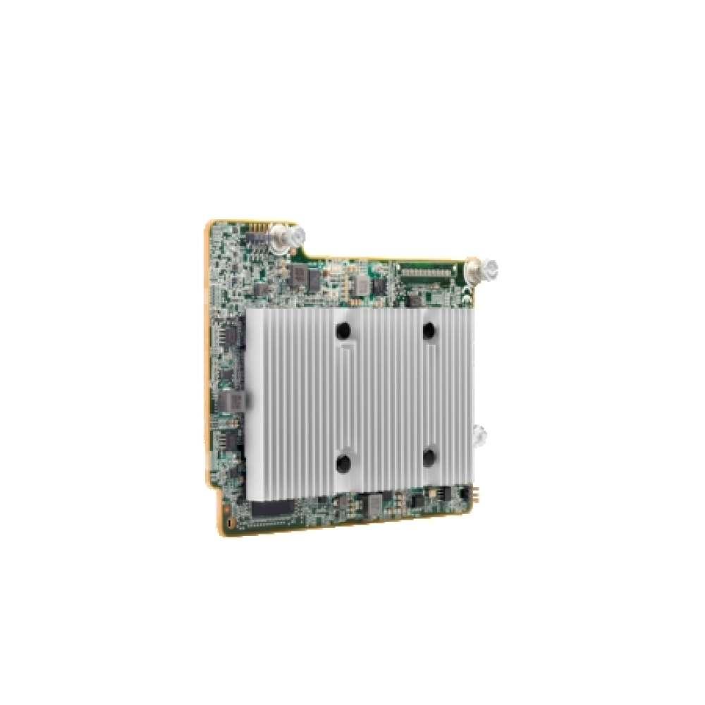 Аксесоар HPE Smart Array P408e-m SR Gen10 (8 External Lanes/2GB Cache) 12G SAS Mezzanine Controller 804381-B21