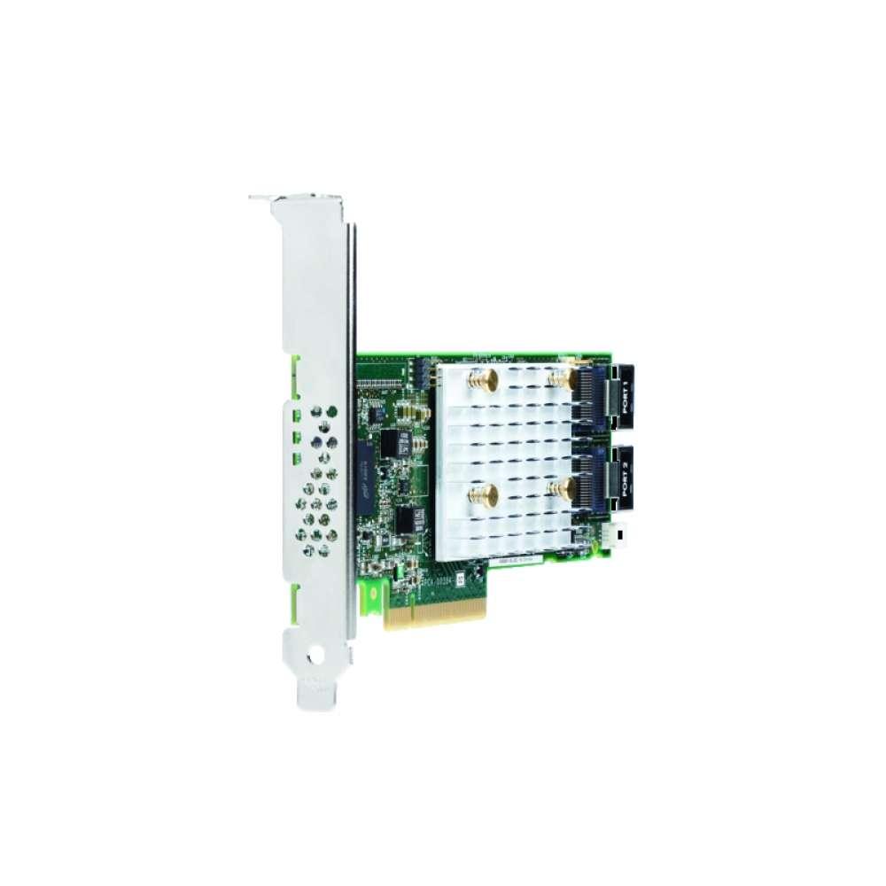 Аксесоар HPE Smart Array P408i-p SR Gen10 (8 Internal Lanes/2GB Cache) 12G SAS PCIe Plug-in Controller 830824-B21