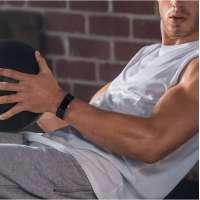 Часовник Fitbit Charge 2 Black Silver FB407SBKL-EU