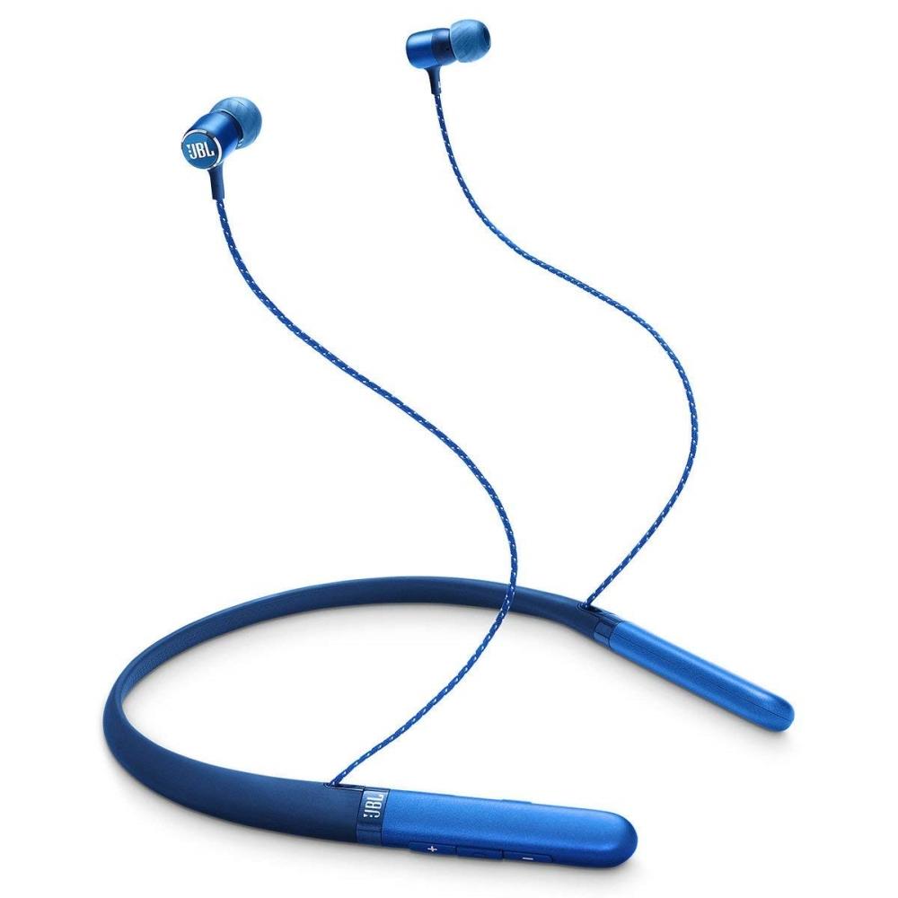 Слушалки JBL LIVE220 BT BLU Wireless in-ear neckband headphones