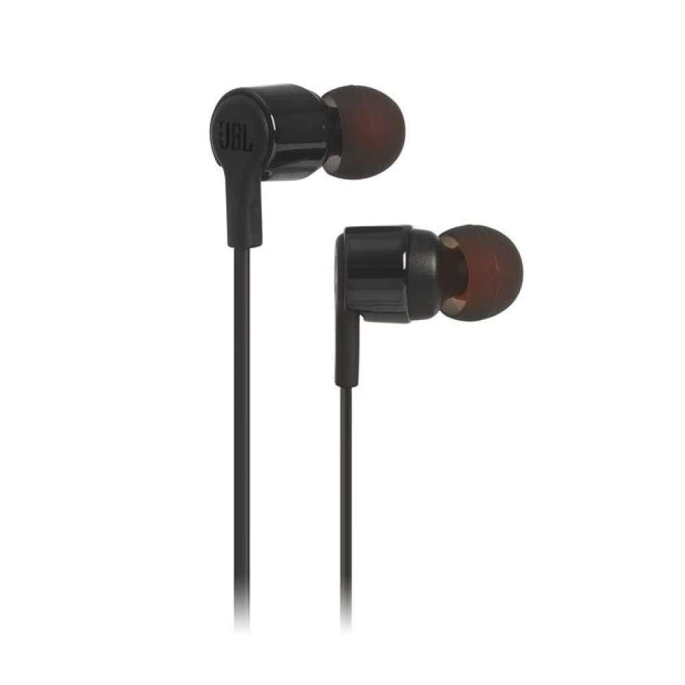 Слушалки JBL T210 BLK In-ear headphones