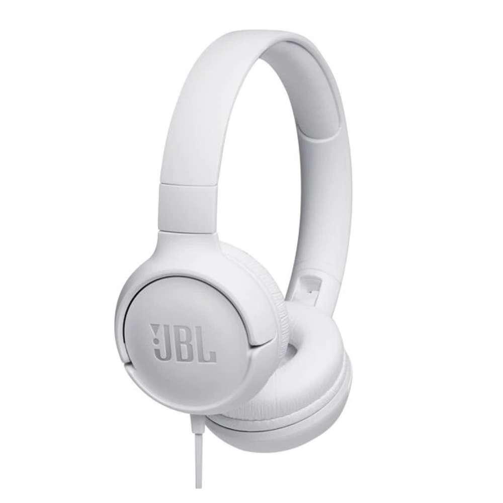 Слушалки JBL T500 WHT HEADPHONES