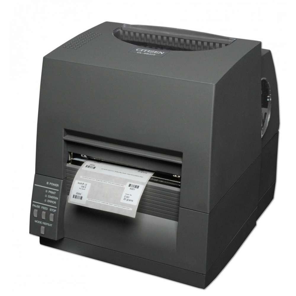 Етикетен принтер Citizen Label Industrial printer CL-S631II Thermal Transfer+Direct Print Speed 100mm/s - CLS631IINEBXX