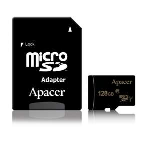 Памет Apacer 128GB Micro-Secure Digital XC UHS-I Class 10 (1 adapter)