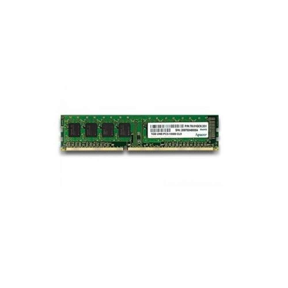 Памет Apacer 2GB Desktop Memory - DDR3 DIMM PC10600 @ 1333MHz AU02GFA33C9QBGC