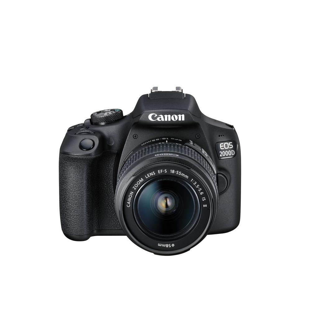 Огледално-рефлексен фотоапарат Canon EOS 2000D 2728C030AA