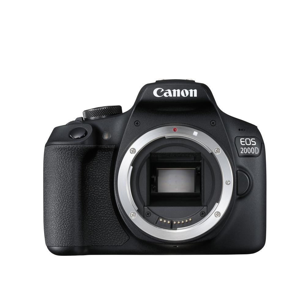 Огледално-рефлексен фотоапарат Canon EOS 2000D Body 2728C026AA