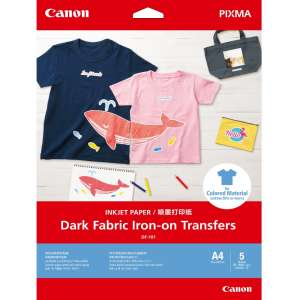 Хартия Canon Dark Fabric Iron-on Transfers A4