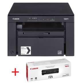 Лазерно многофункционално устройство Canon i-SENSYS MF3010 Printer/Scanner/Copier + Canon CRG725 Toner Cartridge