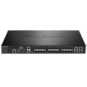 Комутатор D-Link 20-Port 10G SFP+ and 4-port 10GBASE-T/SFP+ Combo Port