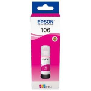 Консуматив Epson 106 EcoTank Magenta ink bottle