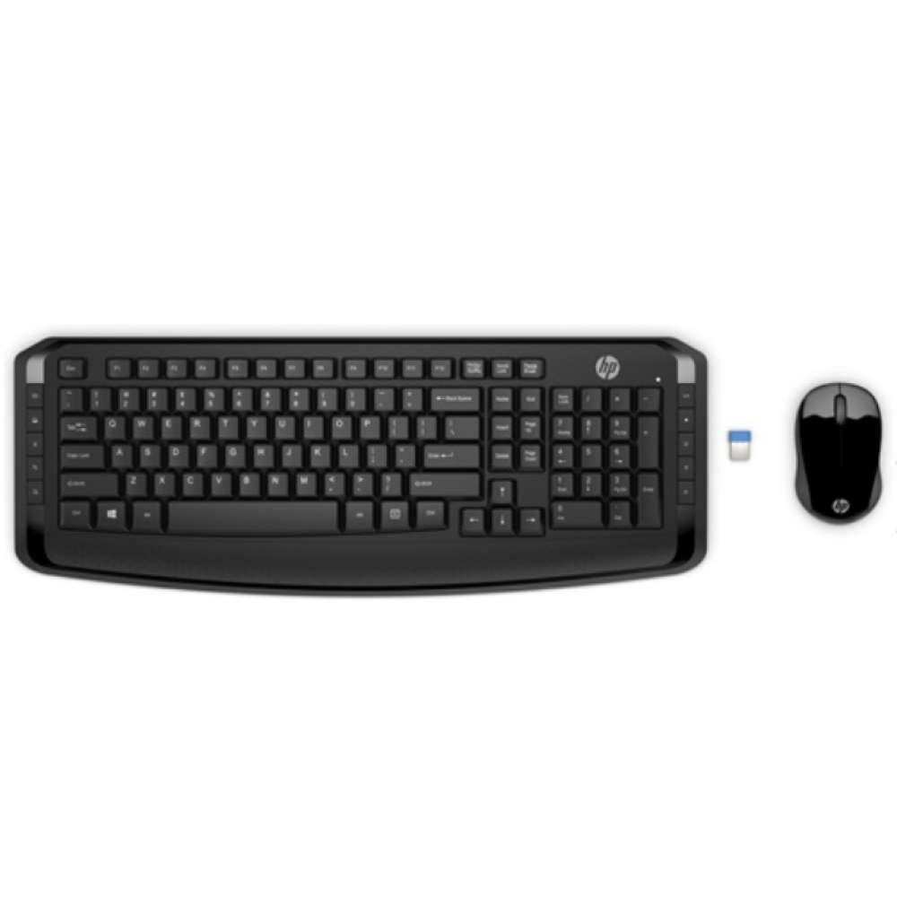 Клавиатура HP Wireless Keyboard & Mouse 300 EURO 3ML04AA